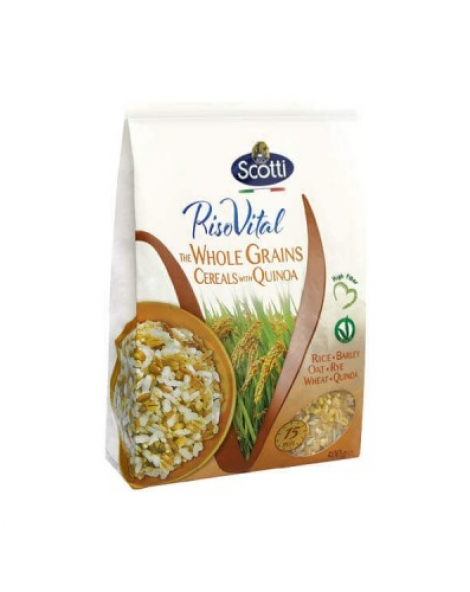 Arroz 5 cereais com quinoa Scotti 500g